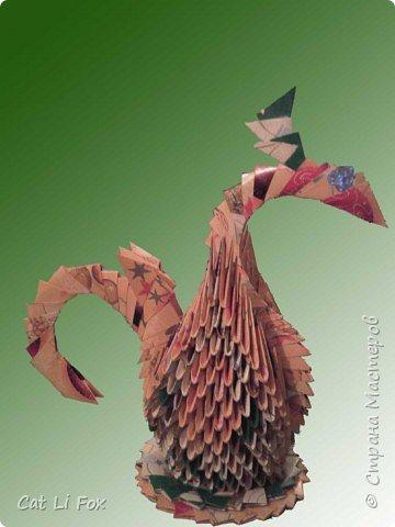 Оригами модульное: А вот и мои вариации на тему Лебедя