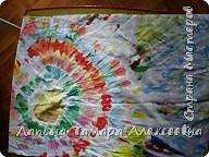 Первые работы красками по ткани. фото 1
