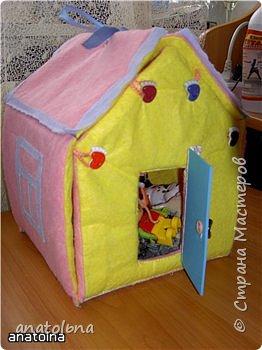 Игрушка мягкая: Домик-игрушка фото 5