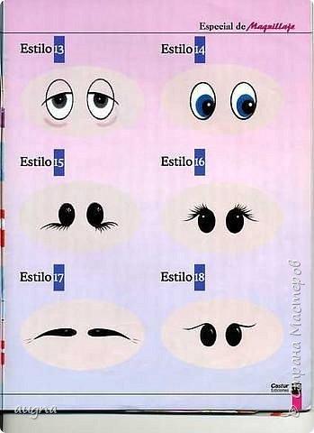 Рисуем глазки. фото 15