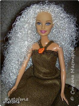 Новые волосы для Барби фото 1
