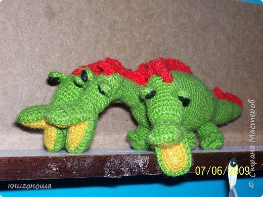 Вязание крючком: Змей Горыныч