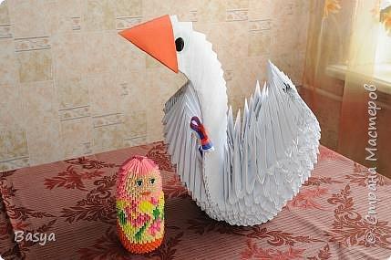 Оригами модульное: Педагоги+дети фото 4