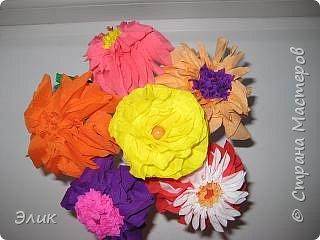 Торцевание: Букет цветов фото 1
