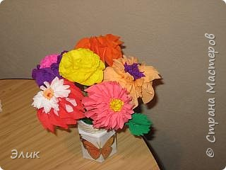 Торцевание: Букет цветов фото 2