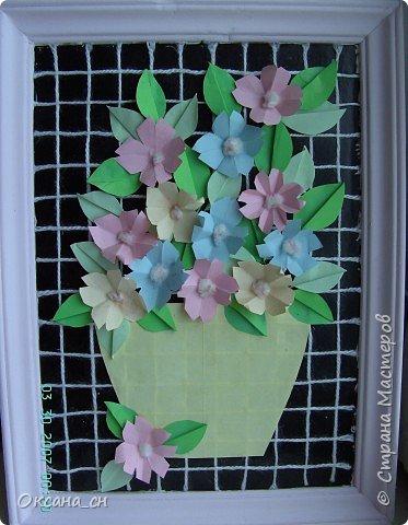 Оригами: Цветы фото 2