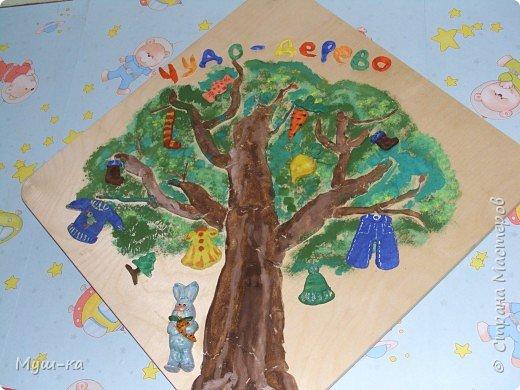 Лепка: Чудо-дерево
