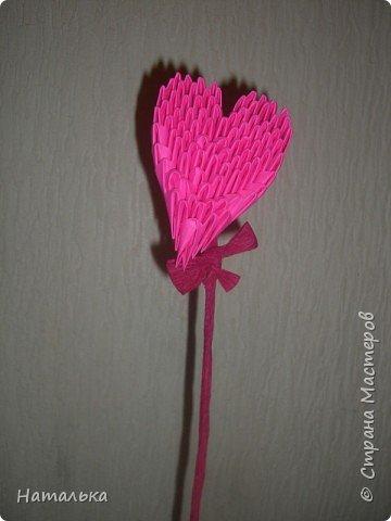 Оригами модульное: Дню влюбленных посвящается!