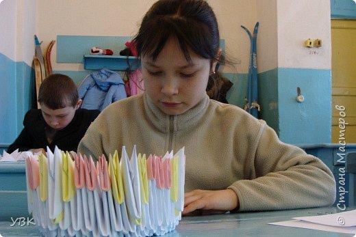 Оригами модульное: Фоторепортаж.  фото 4