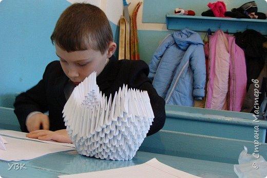 Оригами модульное: Фоторепортаж.  фото 5