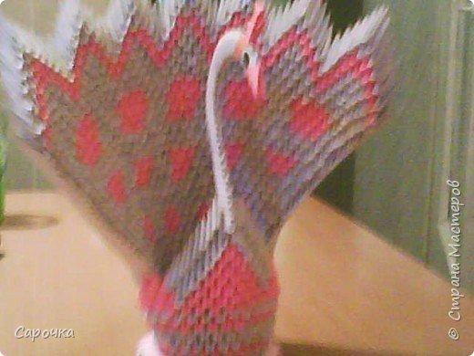 Оригами модульное: Еще павлин фото 1