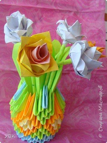 Оригами модульное: Скоро праздник.