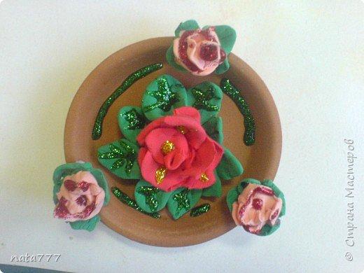 Лепка: Декоративная тарелочка