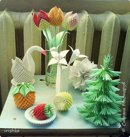 Оригами модульное: моя коллекция