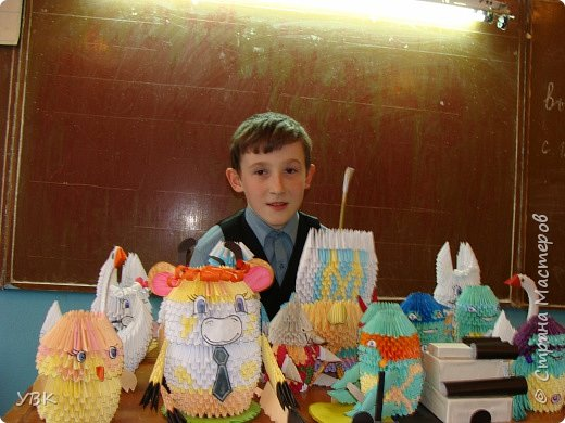Оригами модульное: Вот какие разные работы.