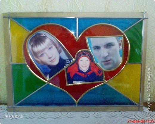 Витраж: подарок на день св.Валентина