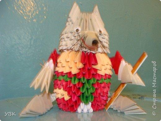 Оригами модульное: И это герой мультфильма. фото 1