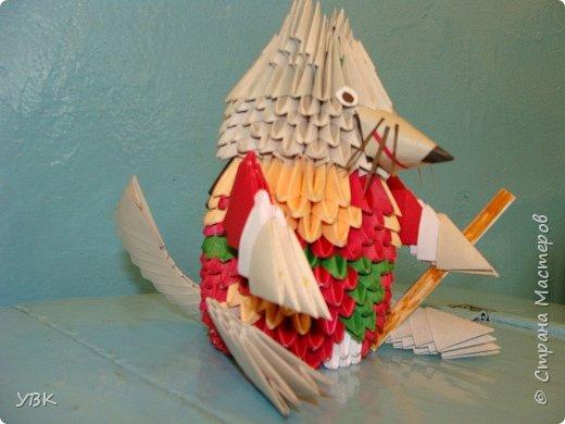 Оригами модульное: И это герой мультфильма. фото 2