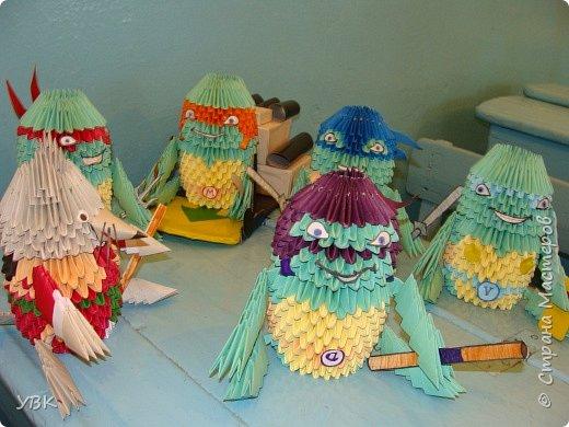 Оригами модульное: И снова работы Руслана. фото 2