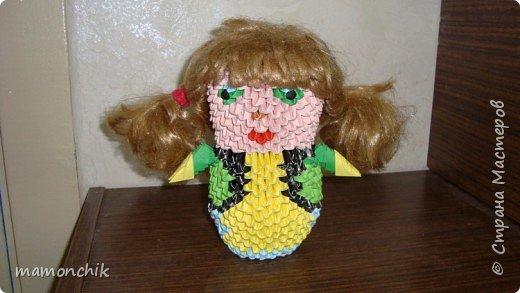 Оригами модульное: Девочка