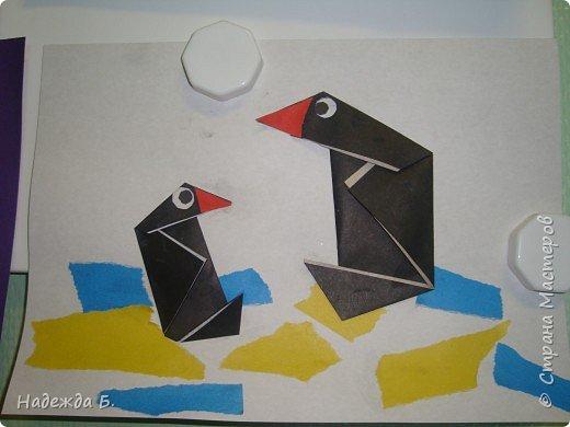 Оригами: Пингвины. фото 3