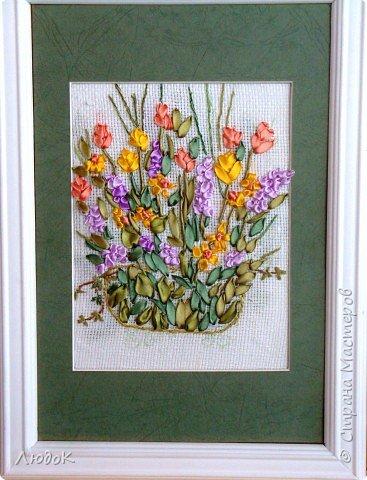 Вышивка: цветы