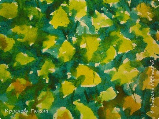 Рисование и живопись: Одуванчики в траве
