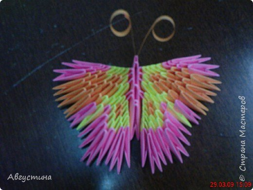 Оригами модульное: Бабочка