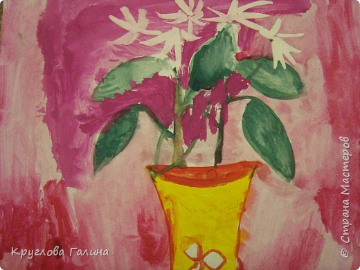Рисование и живопись: Подснежники