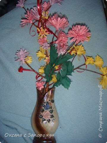 Квиллинг: Весенний букет
