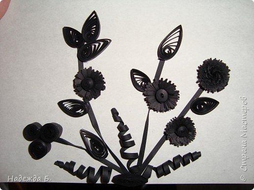 Квиллинг: Черное на белом.