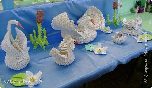 Оригами модульное: Лебедушки фото 2