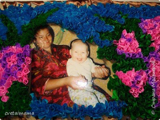 Торцевание: фоторамка для мамы фото 1