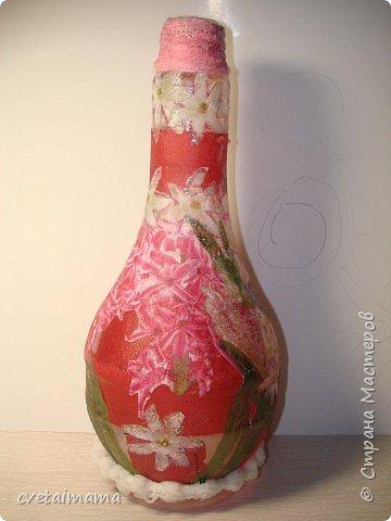 Декупаж: ваза фото 1