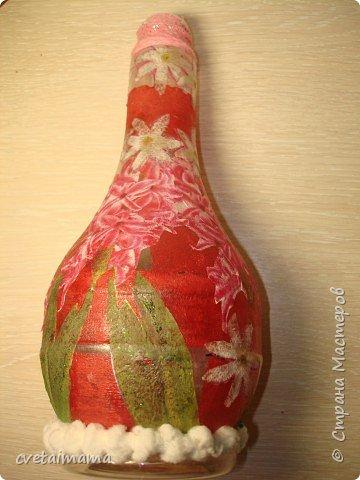 Декупаж: ваза фото 2