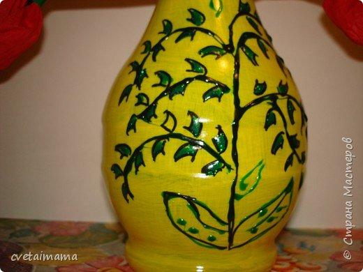 Роспись: ваза фото 1