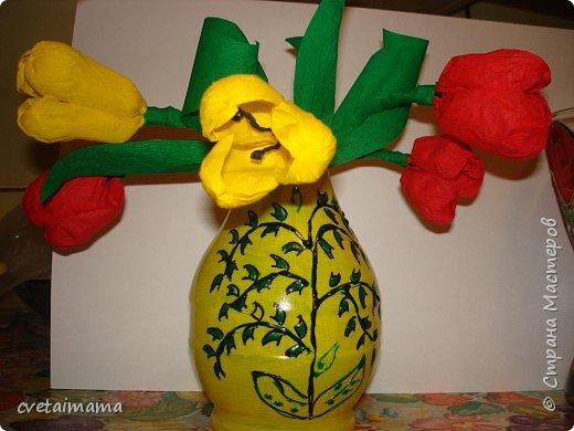 Роспись: ваза фото 2