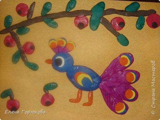 Жар-птица из пластилина