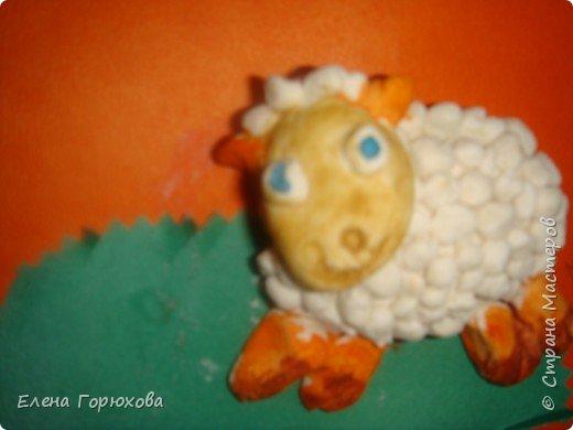 Лепка: овечка