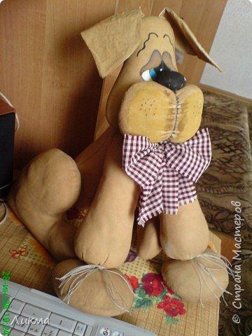 Игрушка мягкая: Добрый пес Арчи фото 1