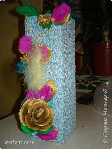 ваза из коробки. фото 1