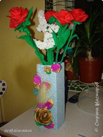 ваза из коробки. фото 2