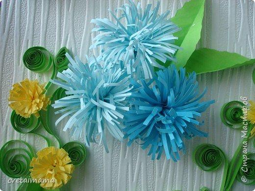 Квиллинг: цветы фото 4