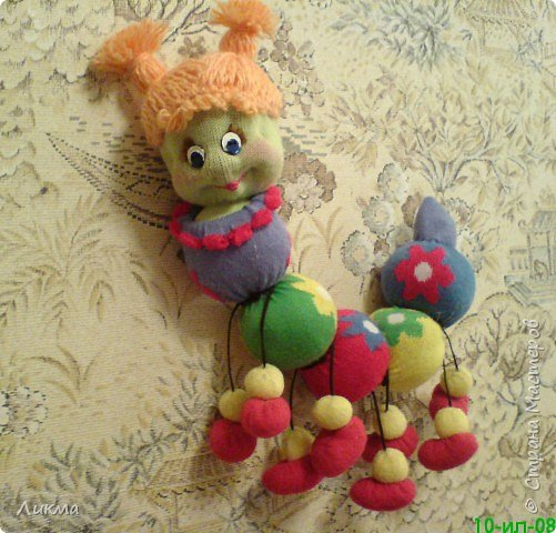 Игрушка мягкая: Рыженькая Лола