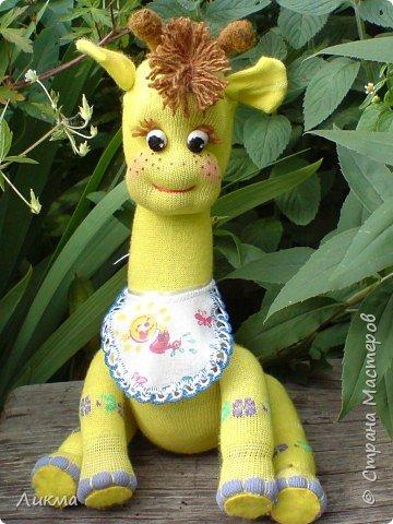 Игрушка мягкая: Жирафик Веснушечка фото 3