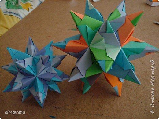 Оригами модульное: Все, что я освоила за месяц. Буду очень рада, если примете меня к себе фото 2