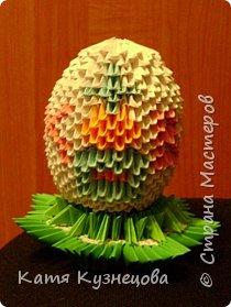 Пасхальное яйцо 1 сторона фото 1