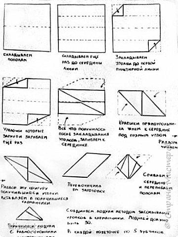 Схема одного из многогранников фото 1