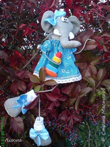 Игрушка мягкая: Слоняшка Тося фото 2
