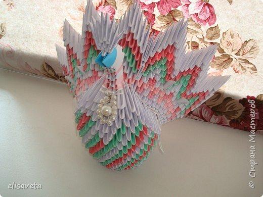 Оригами модульное: origami-golubok